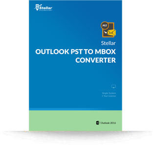 Stellar Outlook PST to MBOX Converter - Win