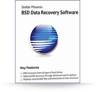 Stellar BSD Data Recovery sofwtare