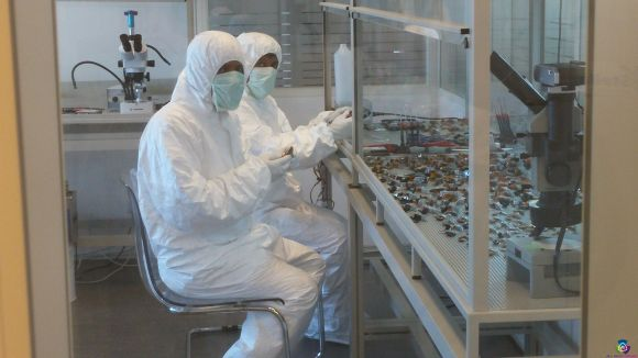 De 'clean room' in het lab van Stellar Data Recovery
